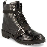 Schoenen Dames Enkellaarzen Corina A2657 Negro