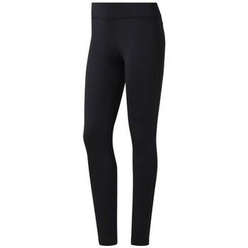 Textiel Dames Broeken / Pantalons Reebok Sport Wor PP Noir