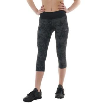 Textiel Dames Broeken / Pantalons Asics 34 Fuzex Knee Tight Noir