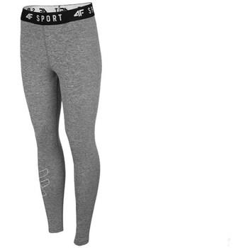 Textiel Dames Broeken / Pantalons 4F SPDF001 Gris
