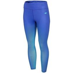 Textiel Dames Leggings 4F SPDF008 Bleu