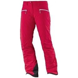Textiel Dames Broeken / Pantalons Salomon Whitecliff Gtx W Rouge
