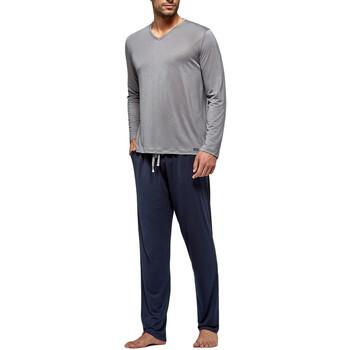 Textiel Heren Pyjama's / nachthemden Impetus Travel Travel gris Grijs