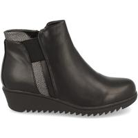Schoenen Dames Enkellaarzen Clowse 9B1022 Negro
