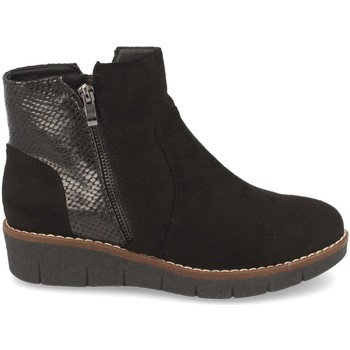 Schoenen Dames Enkellaarzen Clowse 9B1111 Negro