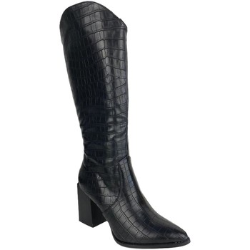 Schoenen Dames Hoge laarzen Buonarotti 1A-0367 Negro