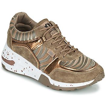Schoenen Dames Lage sneakers Xti CONGOLADY Goud