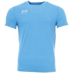 Textiel Heren T-shirts korte mouwen Hungaria  Blauw