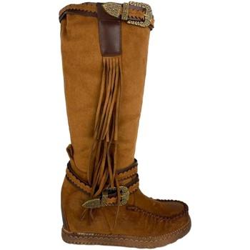 Schoenen Dames Hoge laarzen Ainy 4735 Camel