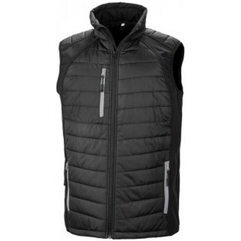 Textiel Heren Jacks / Blazers Result R238X Zwart/Grijs