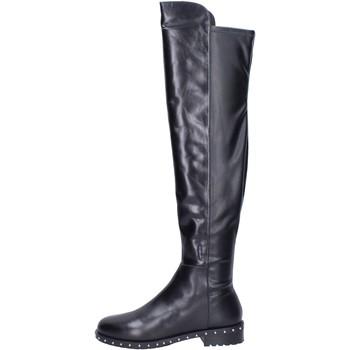 Schoenen Dames Laarzen Elvio Zanon Bottes BK374 Noir