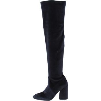 Schoenen Dames Laarzen Elvio Zanon Bottes BK376 Noir