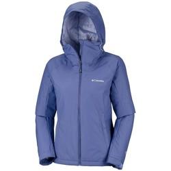 Textiel Dames Windjacken Columbia  Blauw