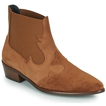 Schoenen Dames Laarzen Fericelli   camel