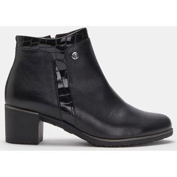 Schoenen Dames Enkellaarzen Pitillos 6338 Zwart