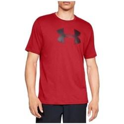 Textiel Heren T-shirts korte mouwen Under Armour Big Logo SS Tee Rouge