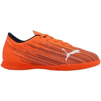Schoenen Kinderen Voetbal Puma JR Ultra 41 IT Orange