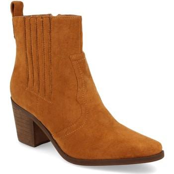 Schoenen Dames Enkellaarzen Prisska TY1065 Camel