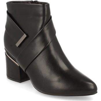 Schoenen Dames Enkellaarzen Prisska Y5675 Negro