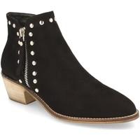 Schoenen Dames Enkellaarzen Prisska Y5680 Negro