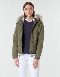 Textiel Dames Parka jassen Only ONLPEYTON Kaki