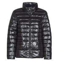 Textiel Dames Dons gevoerde jassen Only ONLEMMY Zwart