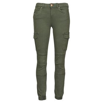 Textiel Dames Cargobroek Only ONLMISSOURI Kaki