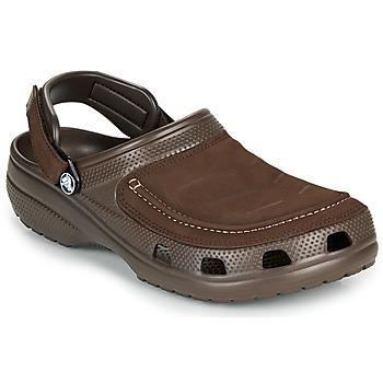 Schoenen Heren Klompen Crocs YUKON VISTA II CLOG M Brown
