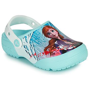 Schoenen Meisjes Klompen Crocs CROCSFL OL DISNEY Blauw