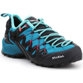 Schoenen Dames Running / trail Salewa WS Wildfire Edge Bleu, Graphite