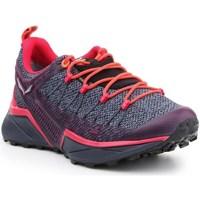 Schoenen Dames Running / trail Salewa WS Dropline Gtx Gris, Orange, Violet