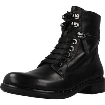 Schoenen Dames Enkellaarzen Regarde Le Ciel ROXANA 04 Zwart