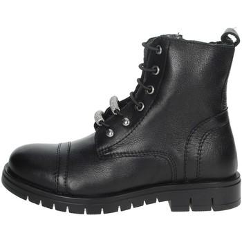 Schoenen Meisjes Laarzen Grunland PO1504 Black