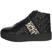 Schoenen Meisjes Hoge sneakers Asso AG-8603 Black