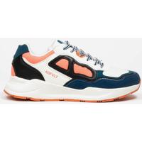 Schoenen Dames Lage sneakers Asfvlt Baskets Femme  Concrete blanc/bleu/corail