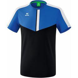 Textiel Heren T-shirts korte mouwen Erima T-shirt  Squad bleu royal/bleu marine