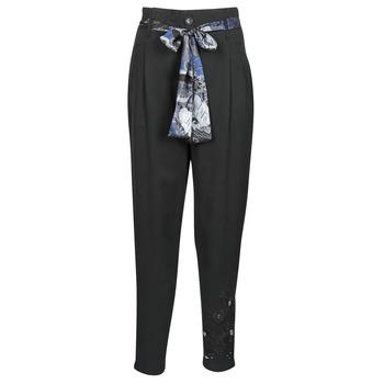 Textiel Dames Losse broeken / Harembroeken Desigual CHARLOTTE Zwart