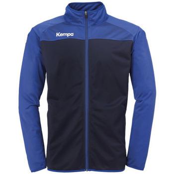 Textiel Jongens Trainings jassen Kempa Veste  Prime Poly bleu marine/bleu royal