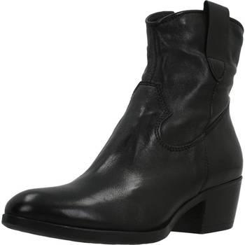 Schoenen Dames Enkellaarzen Mjus 184249 Zwart