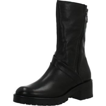 Schoenen Dames Hoge laarzen Mjus 98685 Zwart