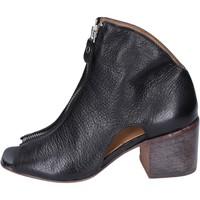 Schoenen Dames Enkellaarzen Moma BK475 Noir