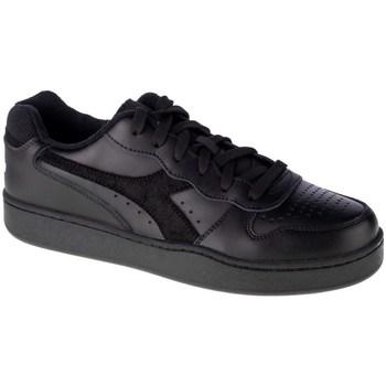 Schoenen Heren Lage sneakers Diadora MI Basket Low Noir