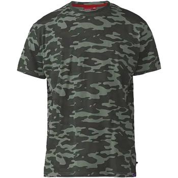 Textiel Heren T-shirts korte mouwen Duke  Jungle