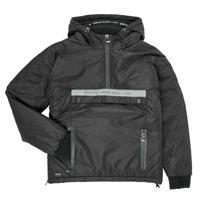 Textiel Jongens Wind jackets Deeluxe  Zwart