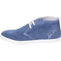 Schoenen Meisjes Enkellaarzen NeroGiardini Bottines BK487 Bleu