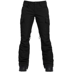 Textiel Dames Cargobroek Burton Woman Gloria Pant True Black