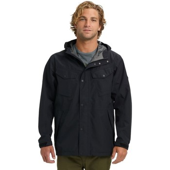 Textiel Heren Windjacken Burton GoreTex Edgecomb Jacked True Black