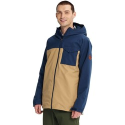 Textiel Heren Windjacken Burton Portal jacket Modigo/Kelp