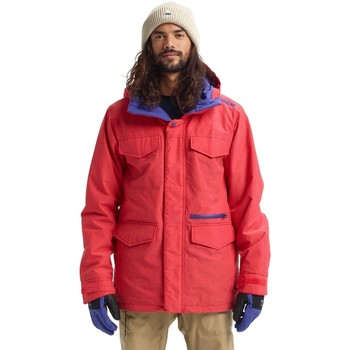 Textiel Heren Windjacken Burton Covert Jacket FLAME SCARLET RPSTP