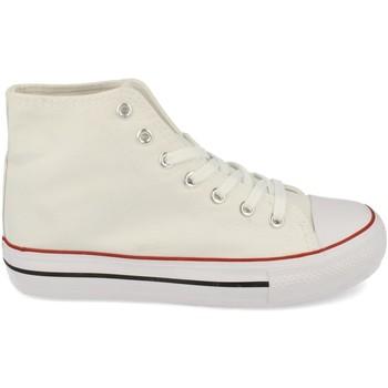 Schoenen Dames Hoge sneakers Woman Key CZ-771 Blanco